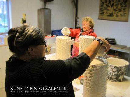 Workshop boetseren Drenthe Workshops