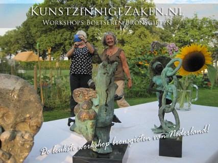 Workshop-bronsgieten-tuin