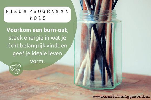 Voorkom een burn-out - Kunstzinnige therapie Utrecht - Sanne Driessen