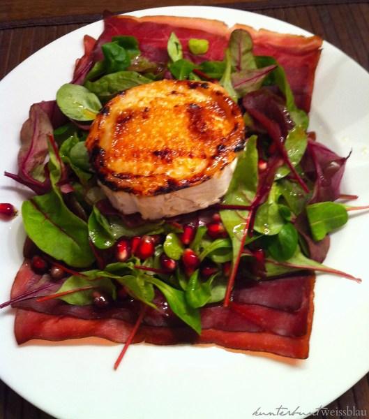 Bündnerfleisch Salat