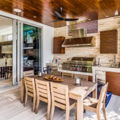 Outside Kitchen Chalkboard Outdoor Kitchens Vs Indoor