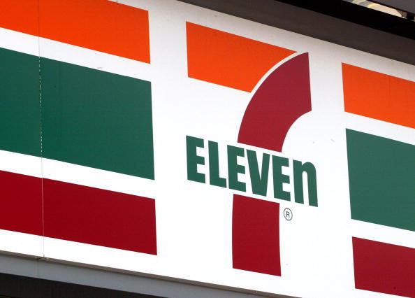 Crazy Japanese Seven Eleven just down the way