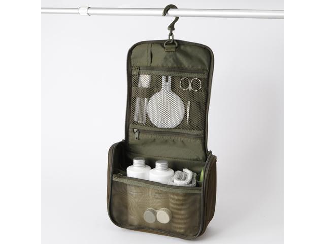 【海外旅行術】無印良品の吊るして使える洗面用具ケースが便利!
