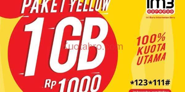 cara mengaktifkan paket yellow