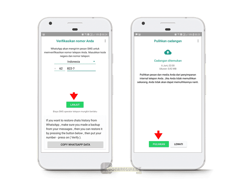 verfikasi sms fmwhatsapp