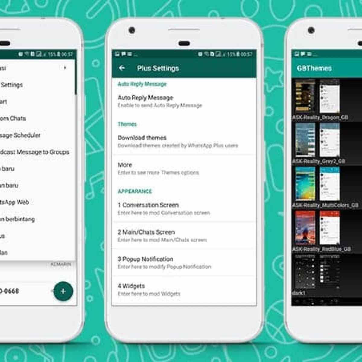 19 Whatsapp Mod Apk Anti Ban Download Versi Terbaru 2020