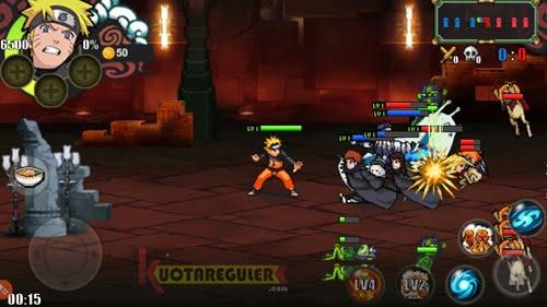 game play naruto senki mod untuk Android