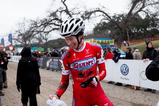 Rachel Lloyd (California Giant Cycling) took 3rd in the Women's Elite race.