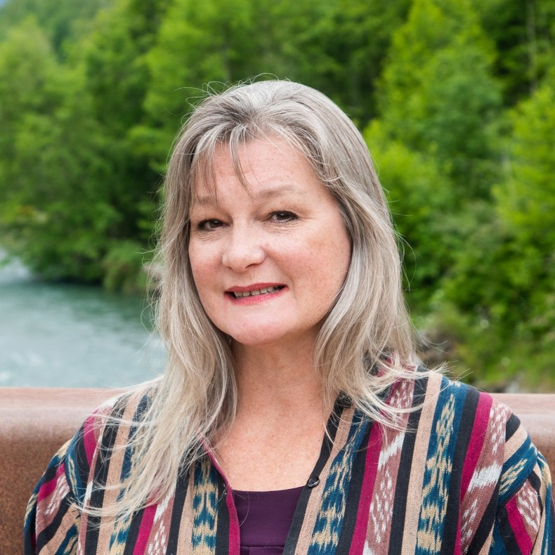 caption: Vicki Lowe is running for Sequim City Council against Mike Pence