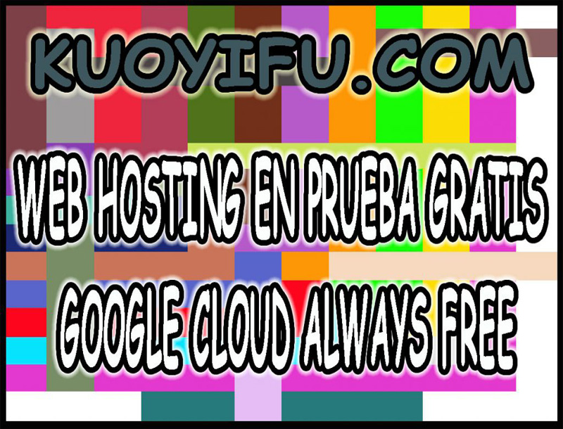 Web hosting en prueba gratis google cloud always free