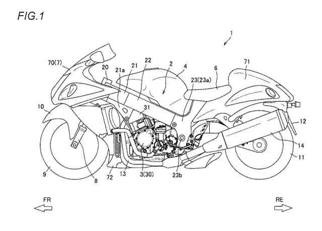 Paten transmisi semi otomatis Suzuki Hayabusa itu lebih