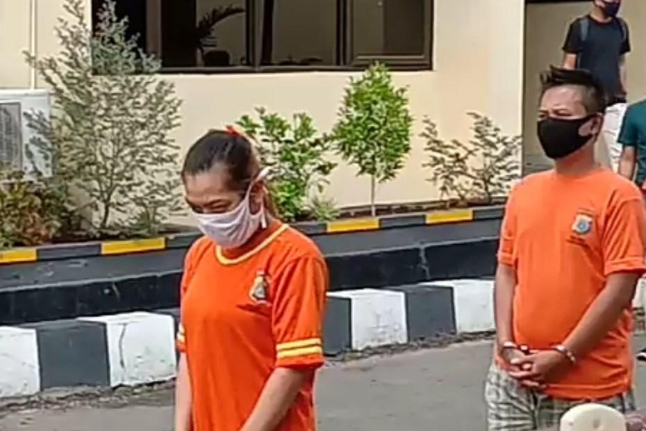 Kedua Pelaku Diamankan Polisi
