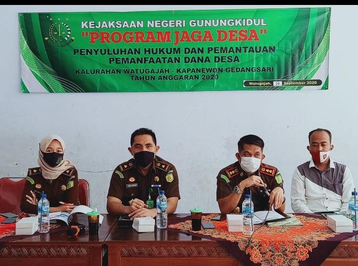 Penyuluhan Hukum Jaga Desa