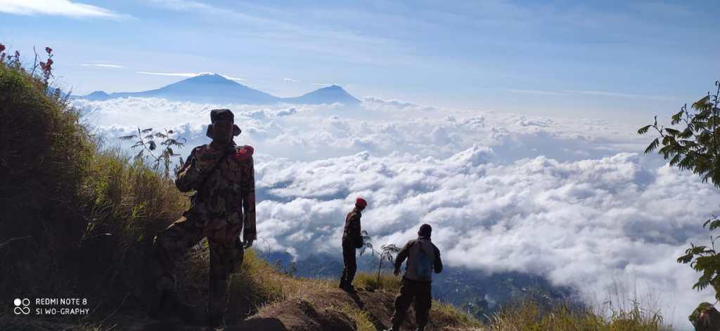 Puncak Sejati Gunung Sumbing 3371 mdpl