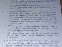 Dipecat Dari ASN, Mantan Pegawai Disdikpora Bakal Gugat Bupati Gunungkidul Ke PTUN