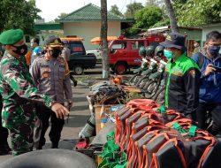 TNI, Polisi dan SAR Apel Kesiapsiagaan Menghadapi Bencana Di Gunungkidul