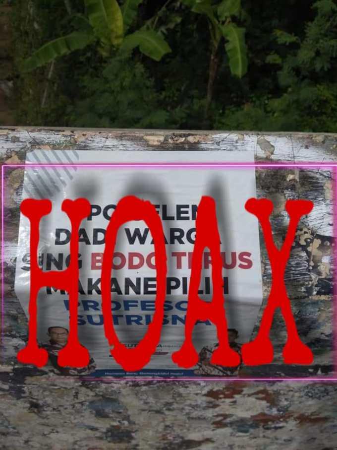 Stiker Hoax