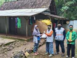 Hari Bermuhammadiyah, Lazismu Rongkop Bagi -bagi Sembako