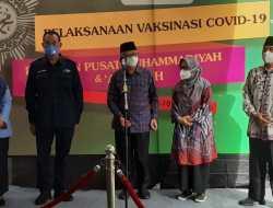 PP Muhammadiyah Ajak Warga Masyarakat Tak Ragu Mengikuti Vaksin Covid-19