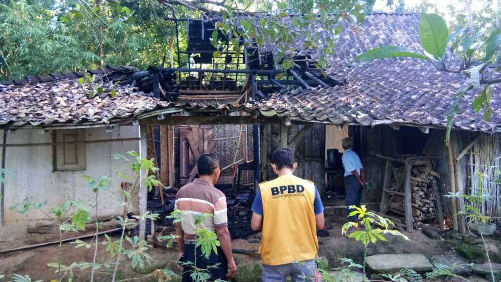 Kondisi Rumah Pasca Terbakar