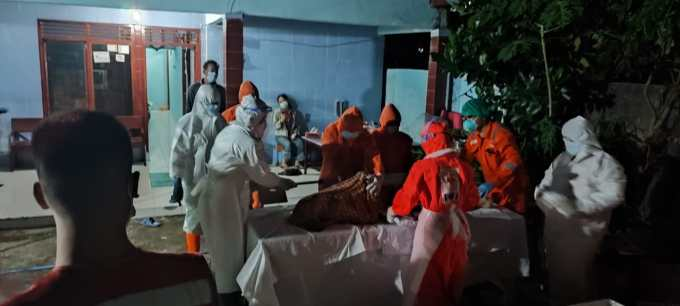 Relawan Pemulasaran Jenazah Covid-19 Kalurahan Ponjong