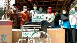 Bantuan Kursi Roda CSR BDG