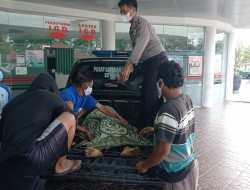 Neybrang Jalan, Lansia Meninggal di Lokasi Kejadian Usai Ditabrak Sepeda Motor