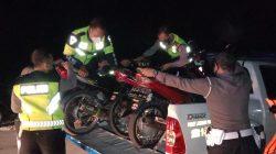 Sejumlah Motor Diamankan Polisi
