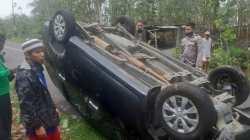 Mobil Usai Kecelakaan