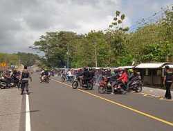 Bleyer – bleyer Motor di JJLS, Rombongan RX King Dibubarkan Polisi