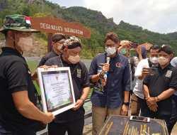 Sandiaga Uno Berkunjung Ke Nglanggeran, Berikan Anugerah Anugerah Desa Wisata