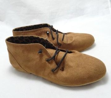 (AM-06) Sepatu Flat Korea Coklat