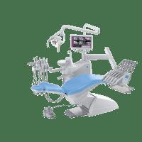 Фотография S200 Continental - стоматологическая установка с верхней подачей инструментов | Stern Weber (Италия)