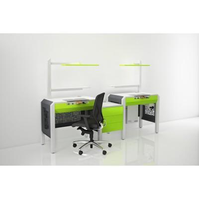 Фотография COJMP.12 - стол зубного техника на два рабочих места| CATO (Италия)