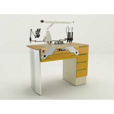 Фотография Miofull - стол зубного техника на одно рабочее место| CATO (Италия)