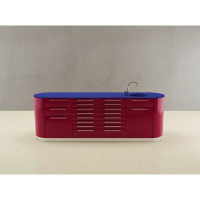 Фотография Valdobbiadene - комплект мебели для хранения стоматологических инструментов