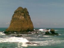 Papuma Beach In Jember 3e Education Environment