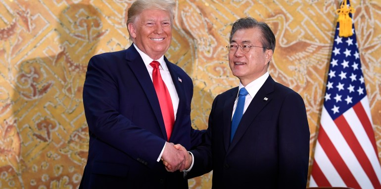 Trump, Kim Hold 'Handshake Summit' at DMZ