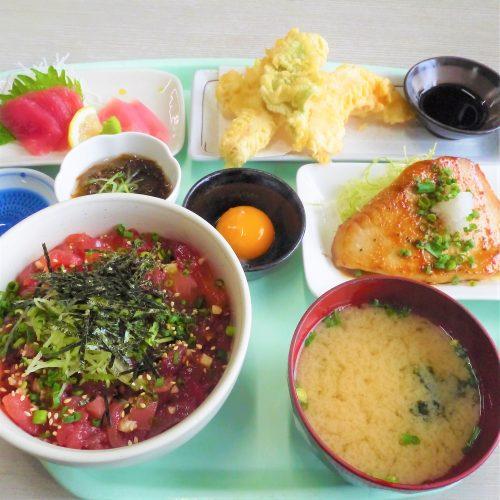 【閉店】那覇市のとまりん内の「マグロ食堂」