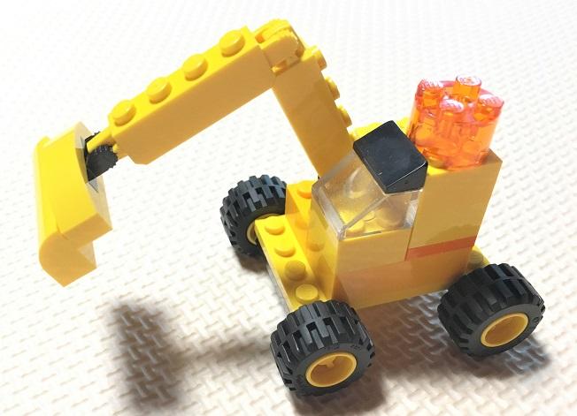 レゴ クラシック 10698 ショベルカーの作り方