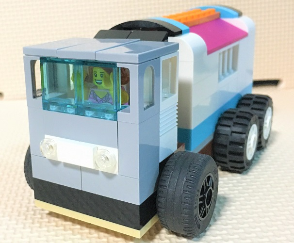 how to make a lego dump truck