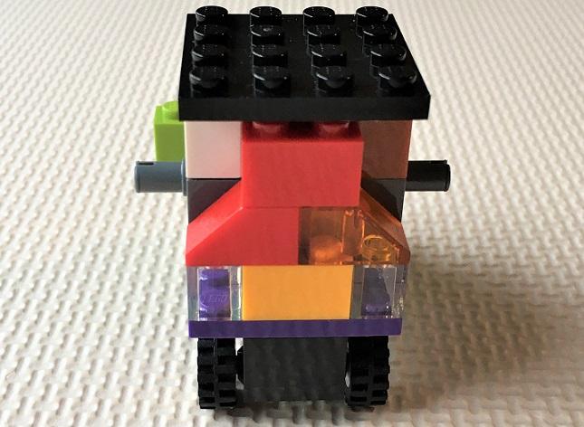 4歳児が作ったレゴ車