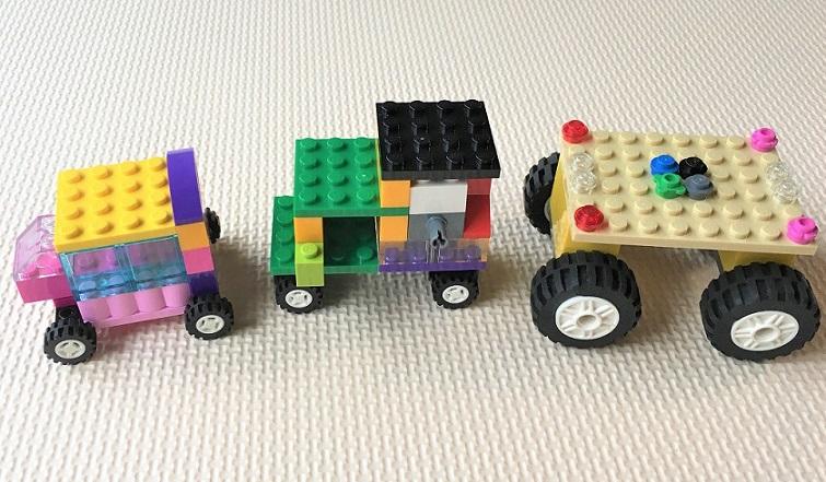 4歳の子供が作ったレゴ作品