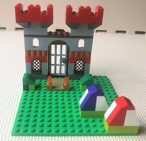 レゴ 10698 城の作り方