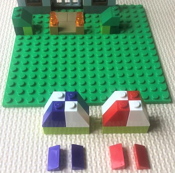 レゴ お城の組立説明書