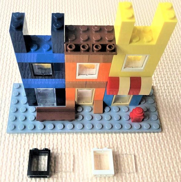 レゴ 3階の窓