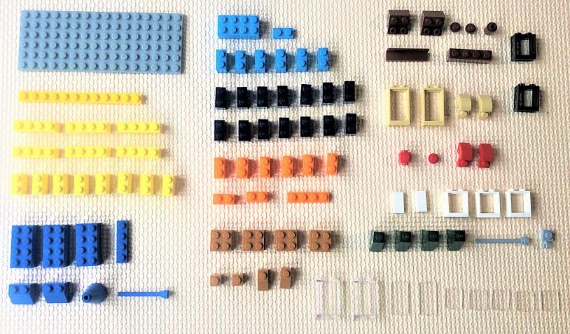 レゴ10698 ビルの作成方法