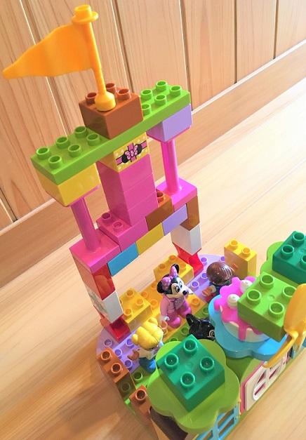 デュプロ お城の作り方