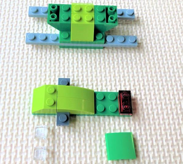 レゴ10715 バイクの組立説明書
