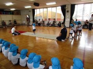 体操教室年少組参観日・年中